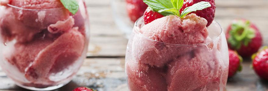 Conseils pour réussir vos glaces et sorbets