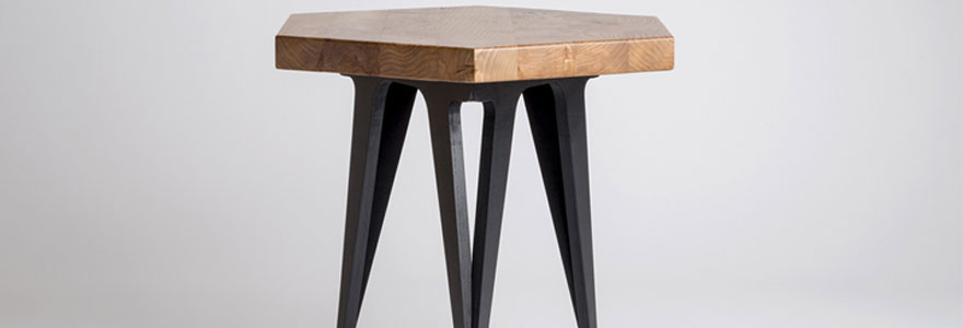 pieds de table design